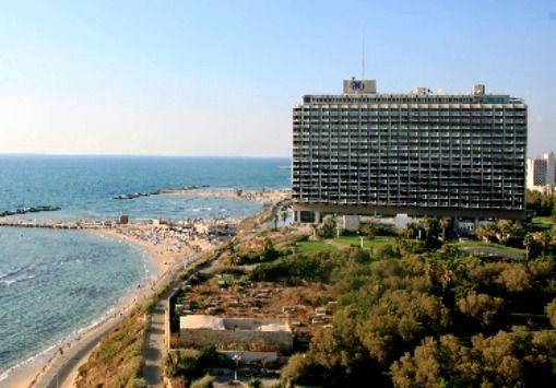 Hilton Beach in Tel Aviv, Israel