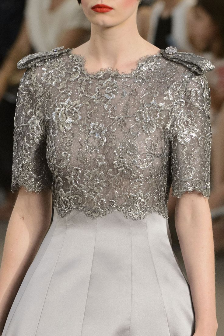 Chanel ~ Haute Couture Embellished Details, 2015