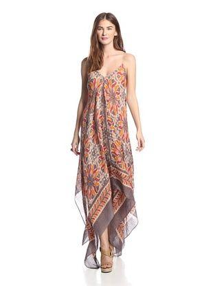 49% OFF Theodora & Callum Women's Bahia Scarf Dress (Coral Multi)