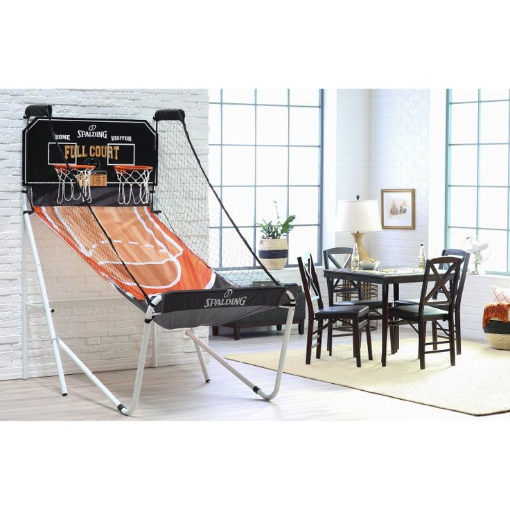 Spalding Full-Court Deluxe 2 Player Basketball Game - SP45-6816