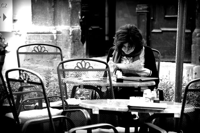 Lost in the menu by dzaky_cz, via Flickr
