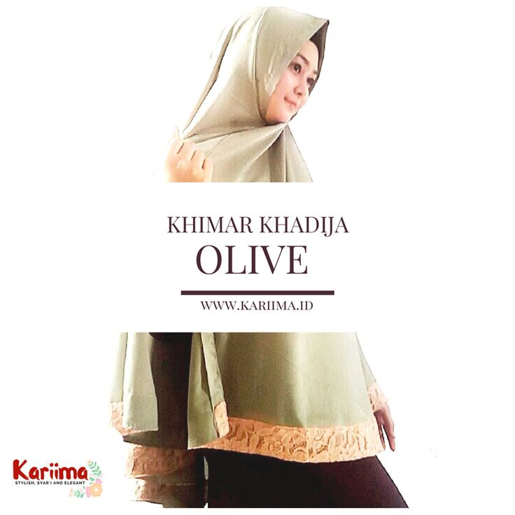 Jual Khimar Fashion, Kerudung Syari Online   KARIIMA HIJAB