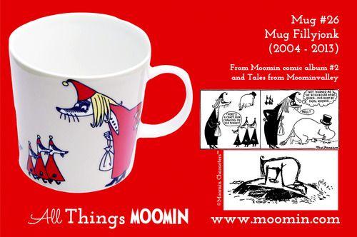 Moomin.com - Moomin mug Fillyjonk / Fillyfjonken