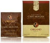 "GOURMET CAFE MOCHA   Our aromatic coffee combined with the finest cocoa brings about our guilt-free ""Dessert in a Cup"". OG's Gourmet Mocha combines a sweet rich coffee taste and 100 % certified authentic Ganoderma Lucidum for the perfect energizing after-dinner drink. 15 Sachets Per Box     $35.00"