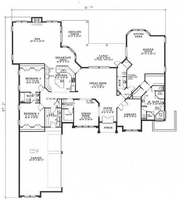 140 best empty nest house plans images on pinterest for Empty nest house plans