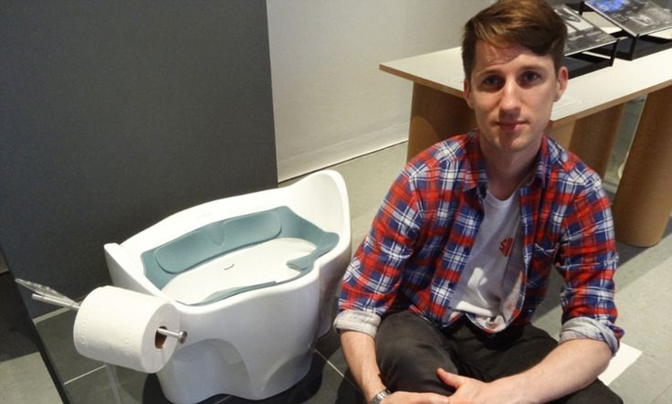 Could this toilet make you healthier? Designer claims his loo prevents disease because it makes you squat