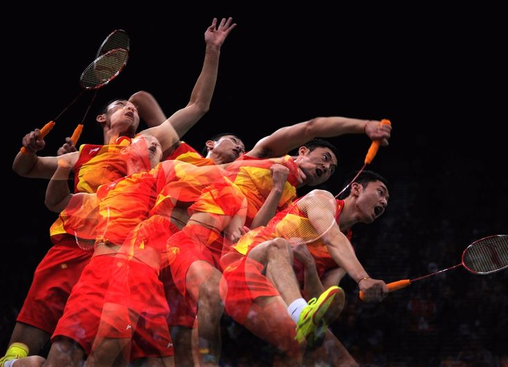 With shuttlecocks travelling at up to 400 km/h, badminton requires fast reflexes from the players and the audience's full attention. It has been in the Games since Barcelona 1992. Men and women compete in individual and doubles events, and mixed doubles.