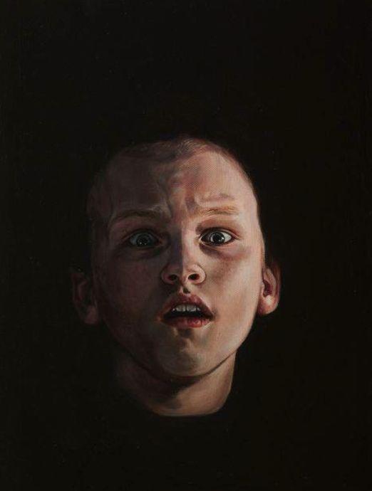 奥兰多系列之五,布面油画,40 x 30 cm, 2013