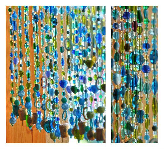 Best 25 beaded door curtains ideas on pinterest bead curtains for doors hanging door beads - Glass beaded door curtains ...