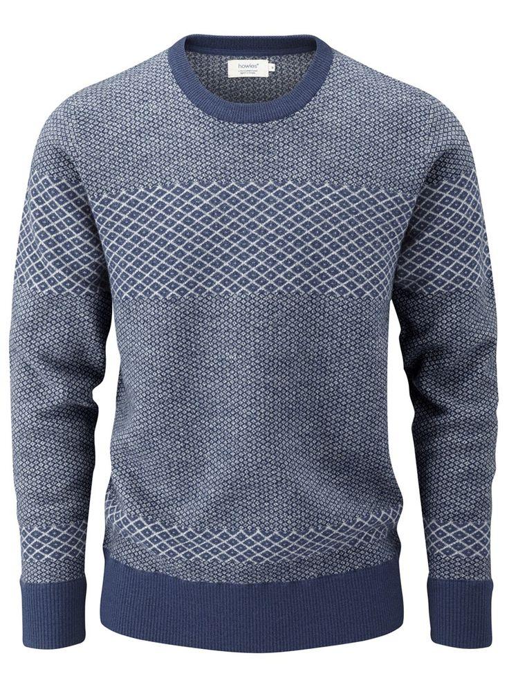 howies nordic sweater, 100% merino