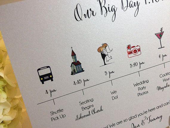 Timeline il grande giorno celebrazione del matrimonio Guest