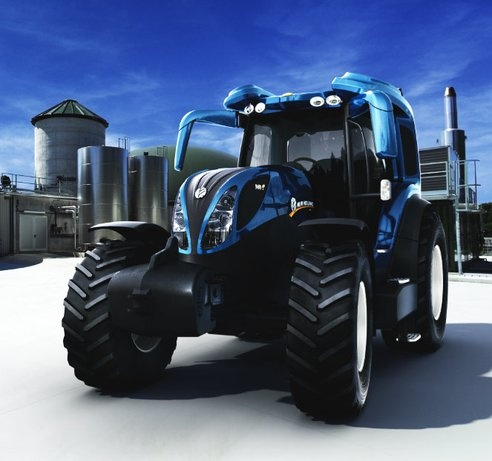 A hydrogen-powered tractor? You bet!  I want!