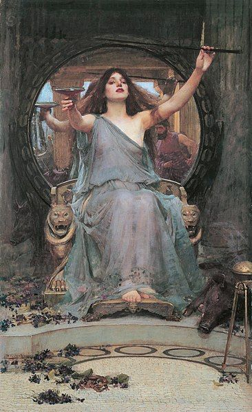 File:Circe Offering the Cup to Odysseus.jpg - Wikimedia Commons