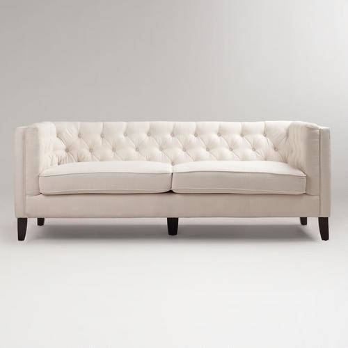 Kendall Ivory Sofa