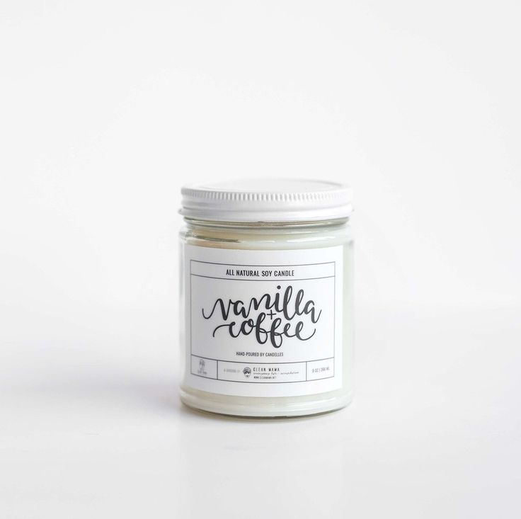 Like the smell of coffee brewing? You'll love the warm vanilla and coffee scent that will waft from this candle. - 9 oz. mason jar soy wax candle - 50+ hour burn time - 100% natural soy wax produced b