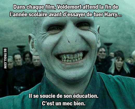 Voldemort est un chic type… | Be-troll
