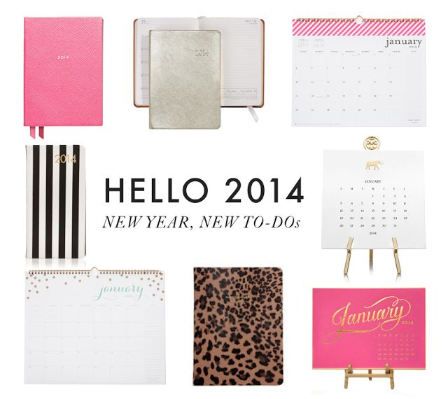 Calendars, Agendas, And Planners To Keep Organized In 2014. Chicago FashionOffice  SuppliesSchool ...