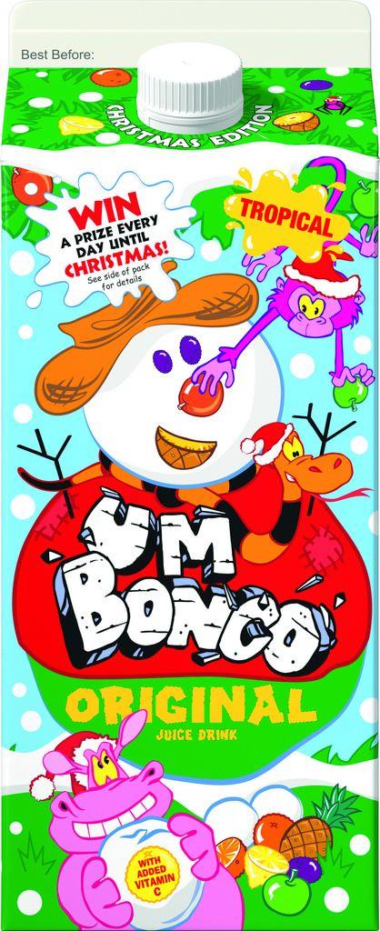Limited edition Um Bongo Christmas 2014 pack
