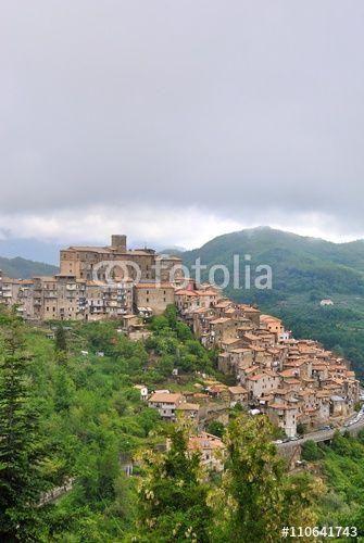 Veduta di San Vito Romano - Roma - Lazio - Italia