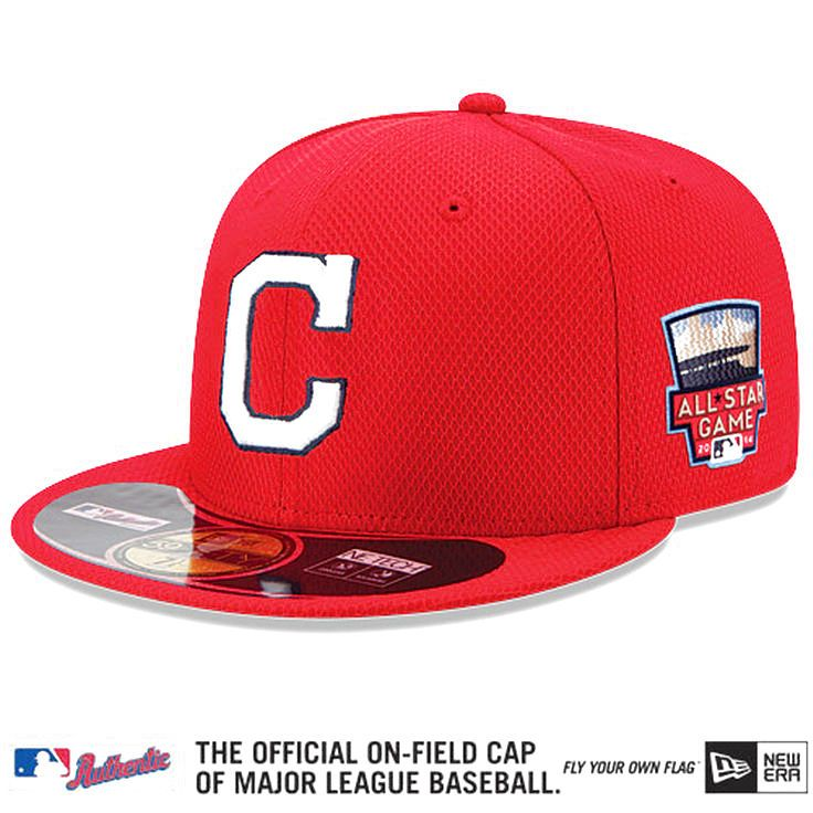 Cleveland Indians New Era Authentic Collection Home Run Derby Diamond Era On-Field 59FIFTY Performance Fitted Hat - Red - $29.59