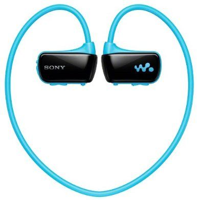 Sony Walkman W273 4GB Waterproof MP3 Player for Swimming, Running and other Sports, with Wearable design - Blue: Amazon.co.uk: Audio & HiFi