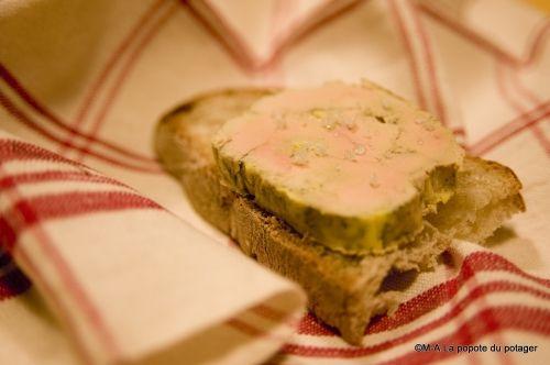 foie gras, cuisson vapeur, terrine de foie gras, la popote du potager