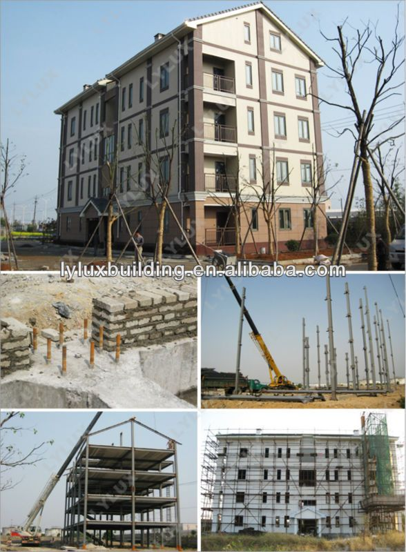 Steel building design steel structure building prefabricated apartment designing, View apartment designing, LYLUX Product Details from Shanghai LYLUX Business Limited on Alibaba.com