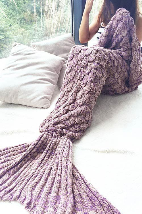 Cupshe Mermaid Party to Be Adored Blanket