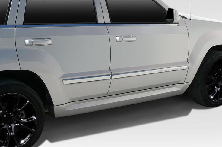 2005-2010 Jeep Grand Cherokee Duraflex SRT Look Side Skirt Rocker Panels - 2 Piece