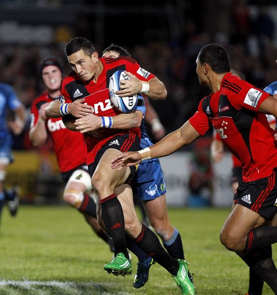 Sonny Bill Williams Sonny Bill Williams of the Crusaders is tackled by Morne Steyn of the Bulls during the round eight Super Rugby match between the Crusaders and the Bulls at Alpine Energy Stadium on April 9, 2011 in Timaru, New Zealand.