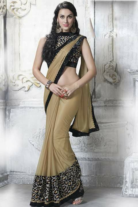 #designer #saree @  http://zohraa.com/beige-shimmer-saree-z5059pprj3895-81.html #designersarees #celebrity #zohraa #onlineshop #womensfashion #womenswear #bollywood #look #diva #party #shopping #online #beautiful #beauty #glam #shoppingonline #styles #stylish #model #fashionista #women #lifestyle #fashion #original #products #saynotoreplica