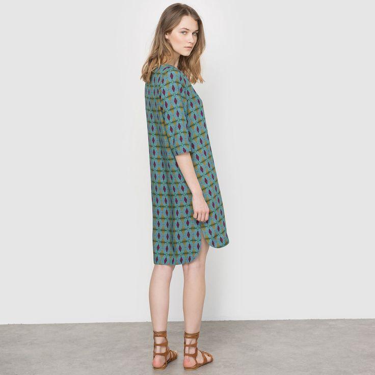 Dámské šaty pro každodenní nošení LES PETITS PRIX - print