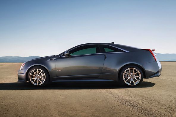 The day car- 2012 Cadillac CTS-V Coupe