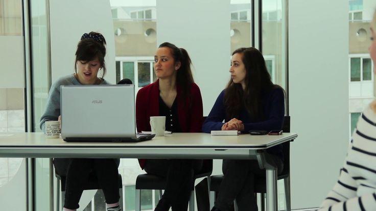 """Anne de Buck (Your Little Blackbook): """"Sociale media moeten in alle studies aandacht krijgen"""".  Mei 2015"""