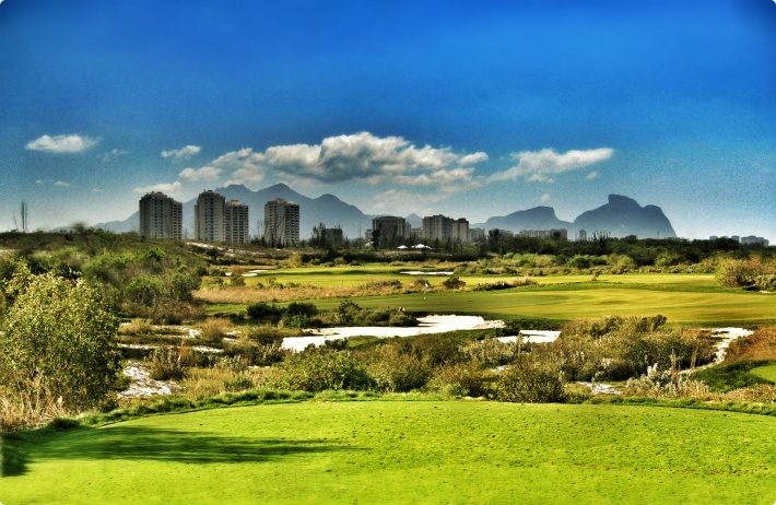 Clearing work underway at Rio 2016™ golf course site   Rio 2016