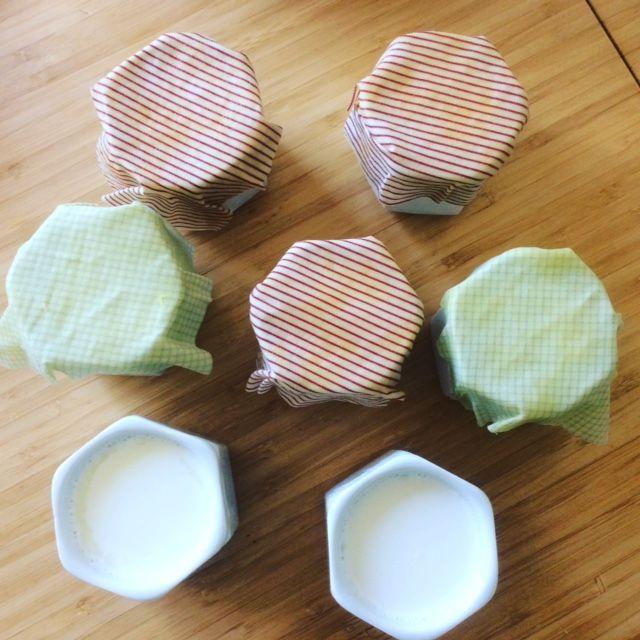 emballage à la cire d'abeille