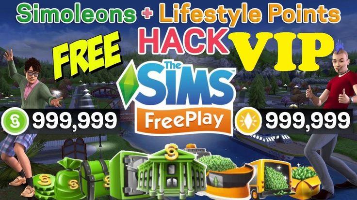 Sims FreePlay Hack Cheats  Free Simoleons and LP