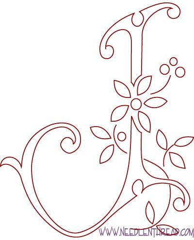 Maripê: Para bordar monogramas                                                                                                                                                                                 Mais