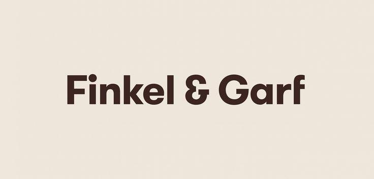 Finkel & Garf Identity by Cast Iron Design / www.castirondesign.com