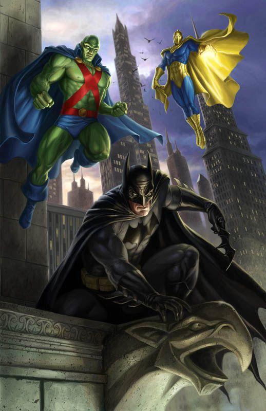 BATMAN // MARTIAN MANHUNTER // DR. FATE: Dan Scott Could Martian Manhunter & Dr. Fate replace Superman & Wonderwoman?