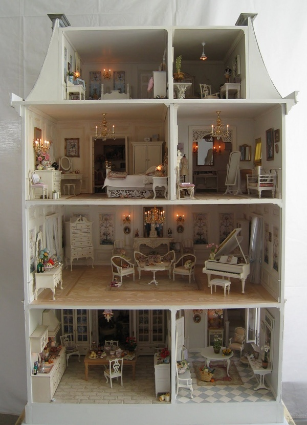 Dollhouse Victorian Dollhouses Pinterest