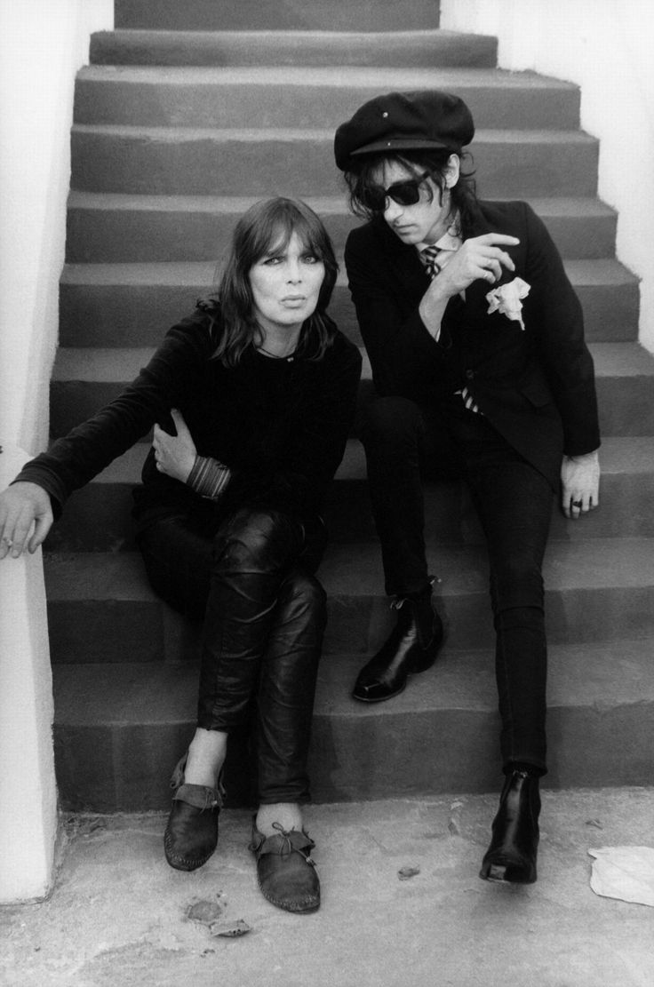 Nico and John Cooper Clarke by Peter Noble, 1985                                                                                                                                                                                 More