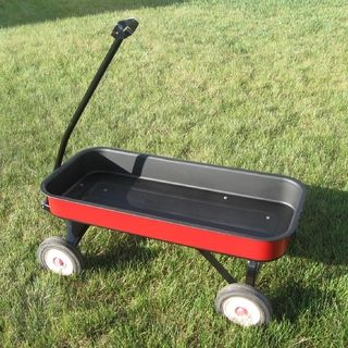 Refinish your old Radio Flyer wagon