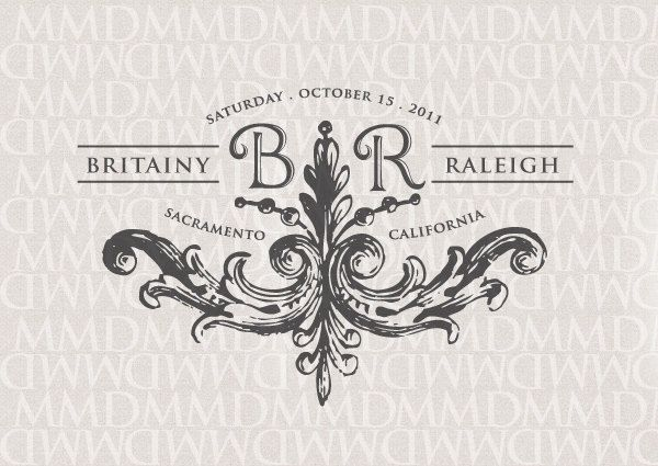 16 best images about Wedding logo on Pinterest