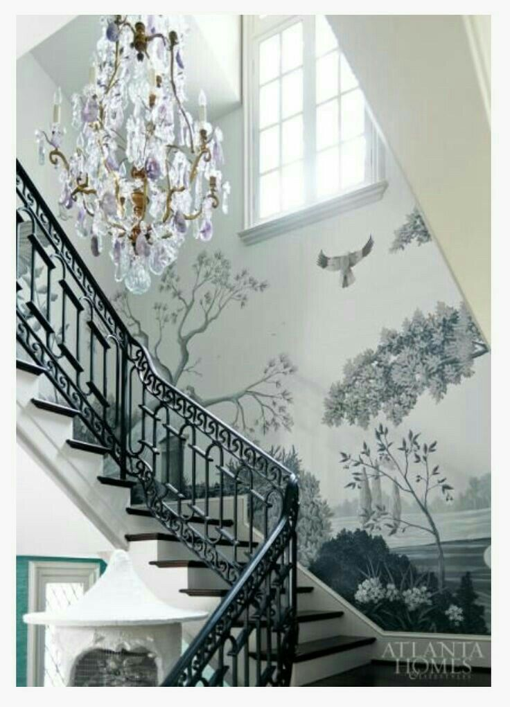 237 best Inspirational Home Designs: Stairs, Murals images