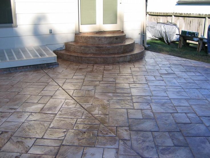 Stamped concrete patio designs concrete designs inc for Concrete patio paint colors ideas