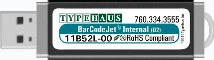 BarCodeJet Internal for HP FutureSmart Host USB-3 for M601, 602, 603 & M500 Series Printers. Fully intelligent professional barcode printing of one and two dimensional barcodes. Host OS independent. Wide array of industry barcodes. Complete SAP® barcode printer solution for barcode printing from SAP, other commercial ERP systems. Scalable and bitmap barcode fonts included.