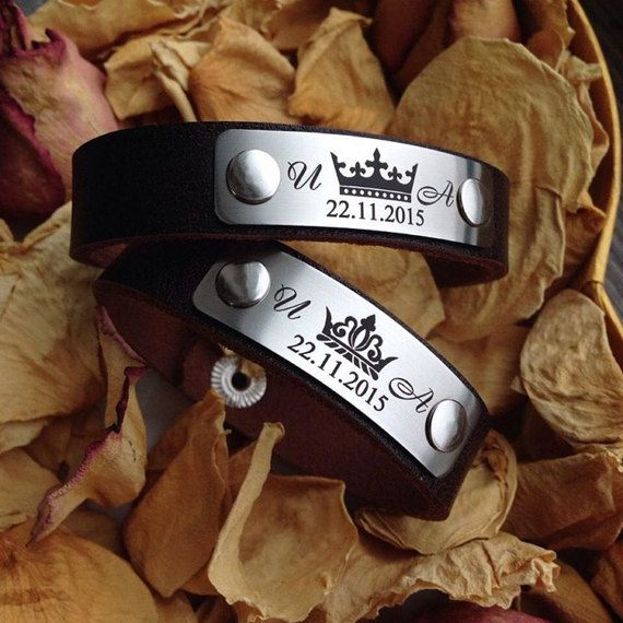 Personalized Leather Bracelet, Engraved Leather Bracelet, Custom Leather Bracelet, Customized Leather Bracelet, Print Bracelets, Best Gift