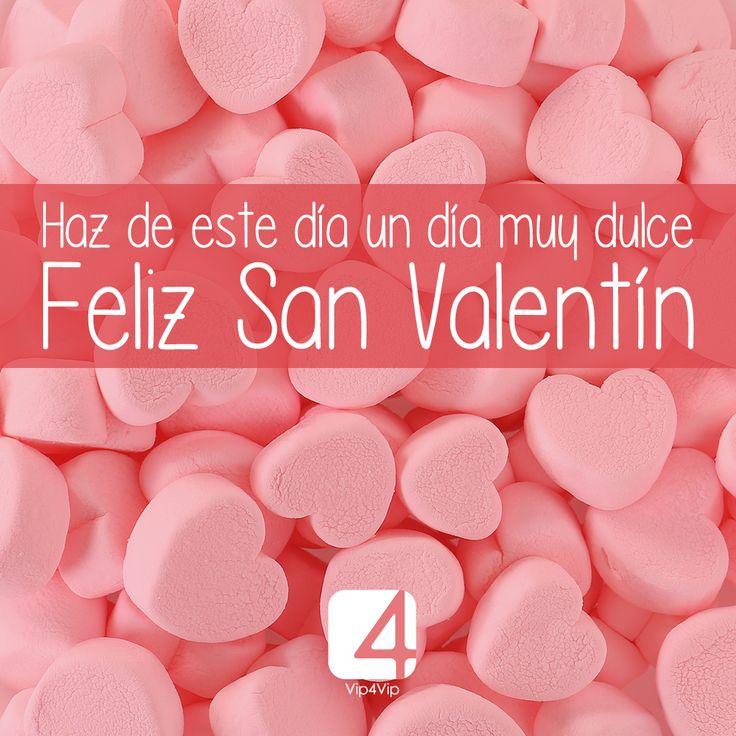 ¡Feliz día de San Valentín! 💖