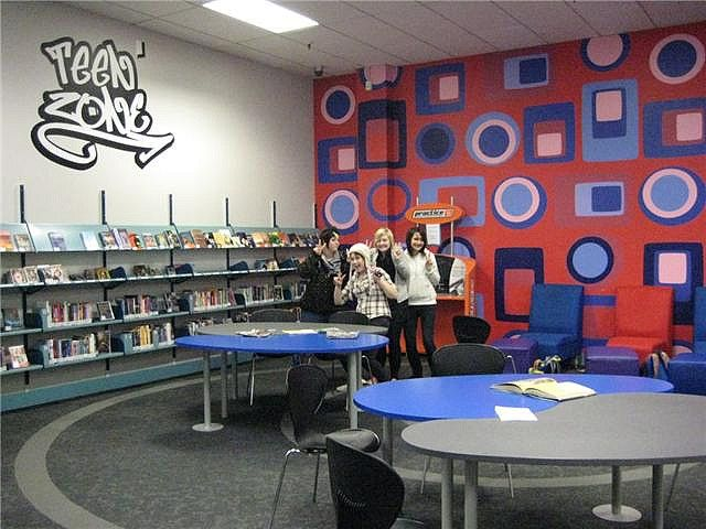Library For Teens The A 62